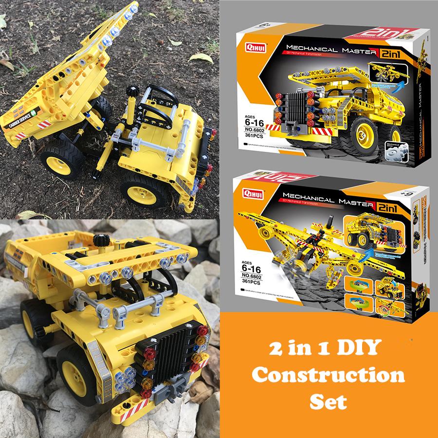 DIY Kids Educational Construction Car Toy Set - Gimmicks ...